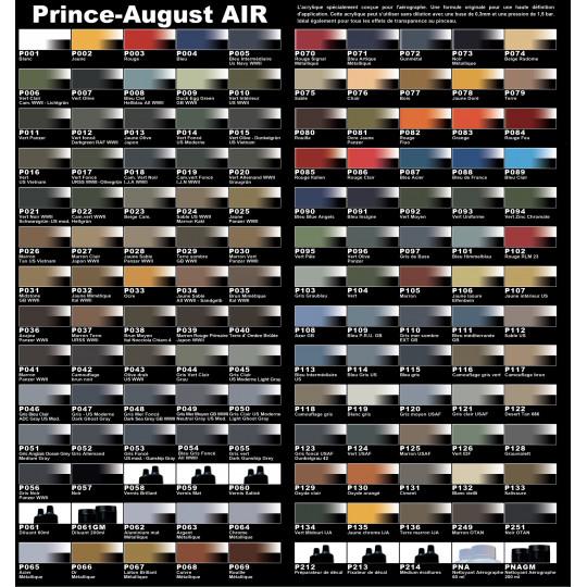 Peintures Prince August AIR
