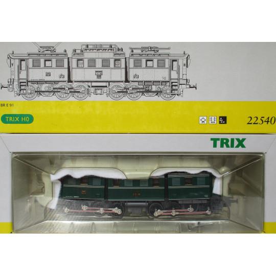 Loco Electrique Br E 91  1/87 TRIX