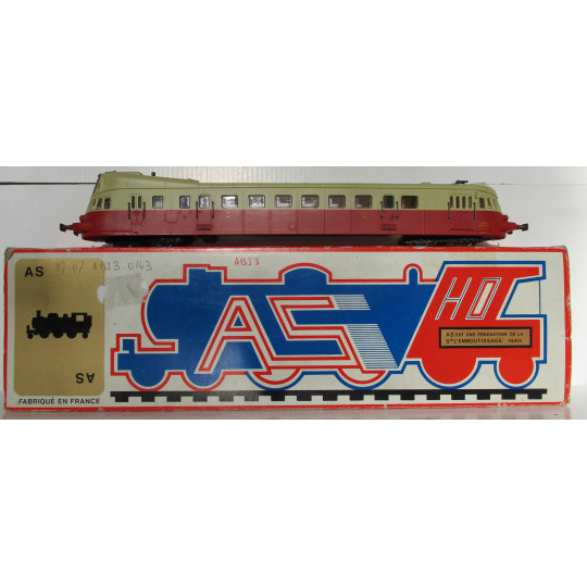 AS M004 Autorail ABJ 3 X3500 3510 SNCF 1/87 HO