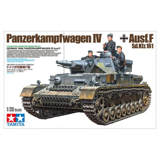 PANZER IV Auf.F Blindé allemand 1/35 TAMIYA