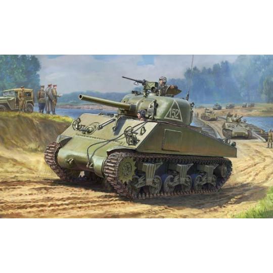 TANK M4A2 SHERMAN 75MM 1/35 SVEZDA