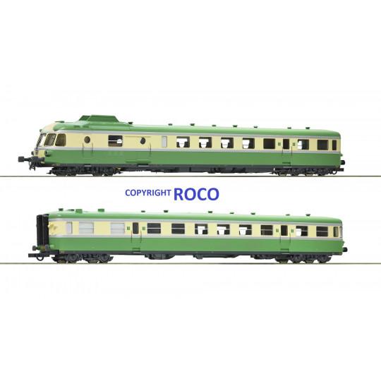 Autorail X 2700 RGP 1 SNCF Digital Son 1/87ème HO ROCO