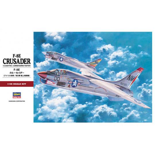 F-8E CRUSADER 1/48 HASEGAWA