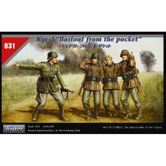 Kursk allemands Front Est 1/35