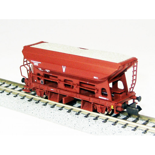 Wagon trémie ballast travaux 1/160 - N - ARNOLD