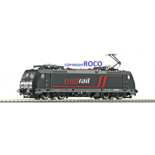 Locomotive électrique DIGITAL BB TRAXX Br 185 SNCF 1/87ème HO ROCO