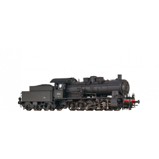LOCOMOTIVE VAPEUR DIGITAL SON 050 B SNCF 1/87  HO BRAWA