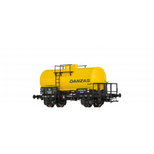"Wagon citerne ""DANZAS"" Essieux HO 1/87 BRAWA"