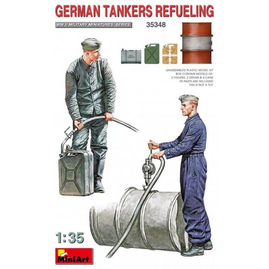 GERMAN TANKERS REFUELING...