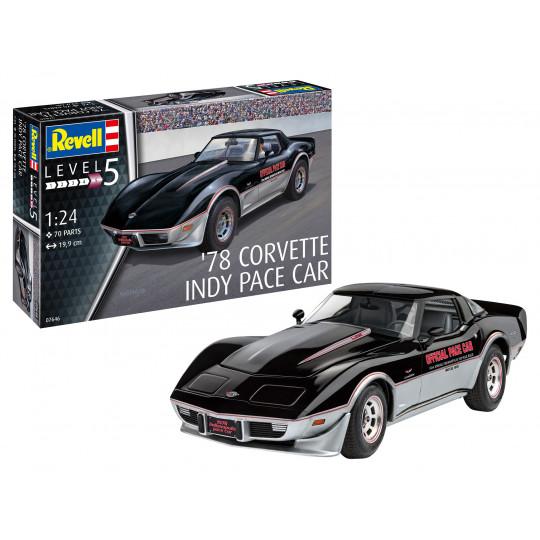 78 Corvette Indy Pace Car 1/24 REVELL