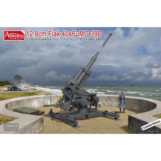 Flak 40 12.8cm  & radar...