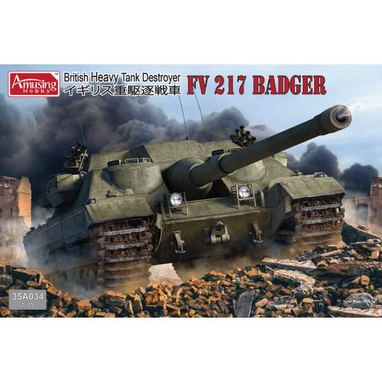 FV217 Badger 1/35 AMUSING...