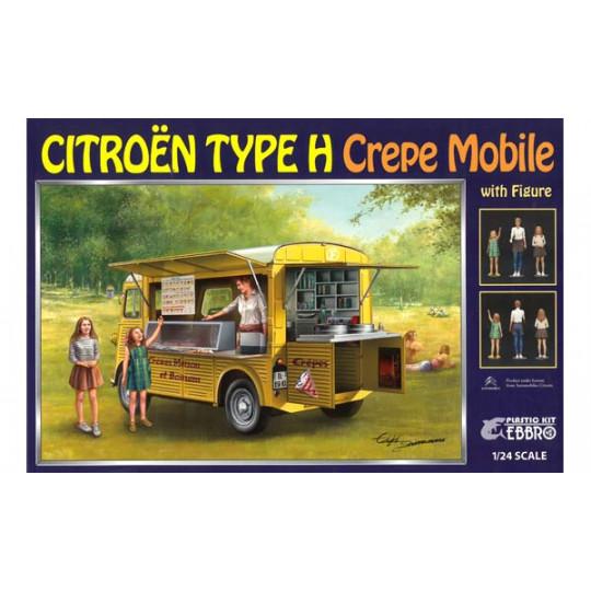 "Citroën H ""Crêpe Mobile""  1/24 EBBRO"