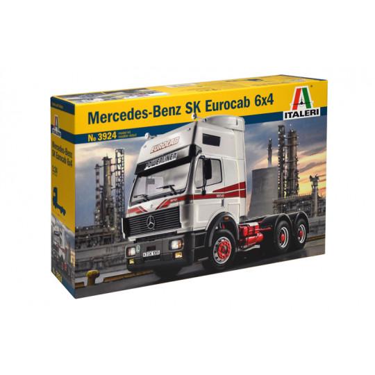 MERCEDES-BENZ SK EUROCAB 6x4 1/24 ITALERI