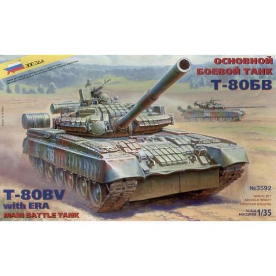 Char russe T-80 BV 1/35 ZVEZDA