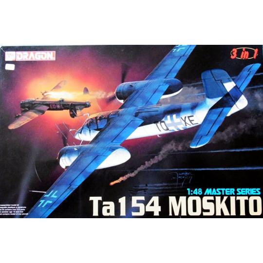 Focke-Wulf Ta 154 A Moskito 1/48 DRAGON