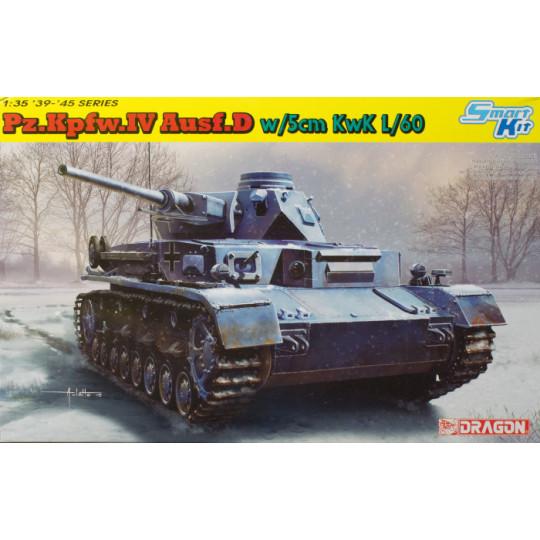 Char Panzer IV D Canon 50mm /35 DRAGON