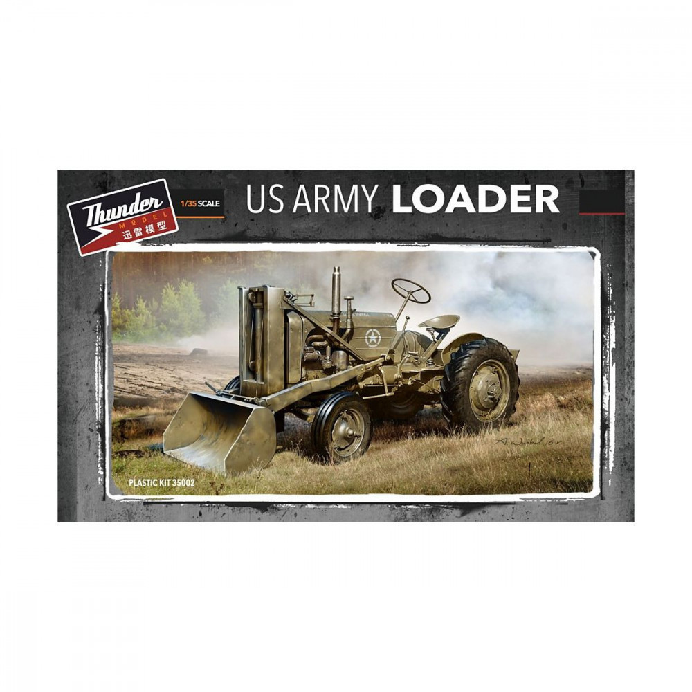 US ARMY LOADER 1/35 THUNDER MODEL