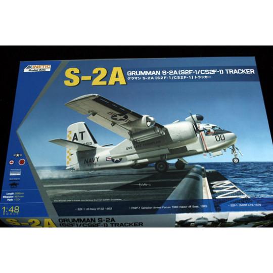 US Navy Grumman Tracker S-2 A 1/48 KINETIC