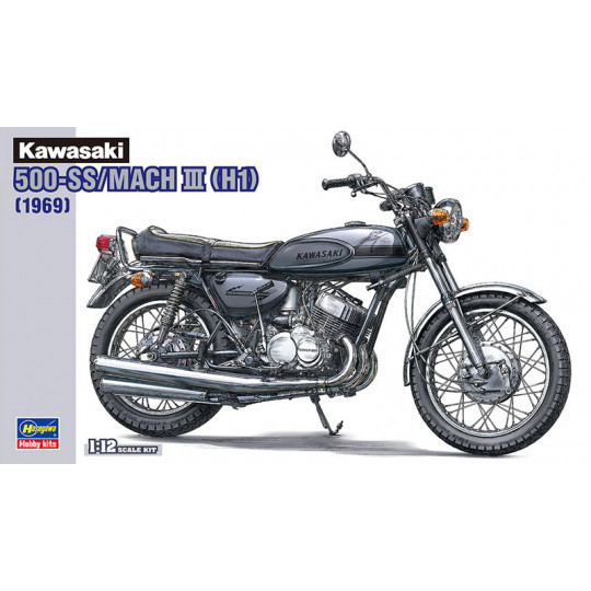 kawasaki 500-SS/mach III (HI) 1/12 HASEGAWA