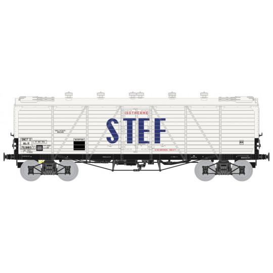 Wagon couvert frigo bogies type TP STEF 1/87 HO REE