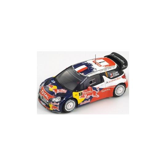 CITROEN DS WRC n°1 S.LOEB...