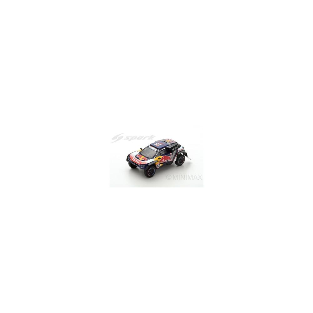 PEUGEOT 3008 DKR Maxi N°303-Team Peugeot Total - Vainqueur Dakar 2018 Sainz-Cruz