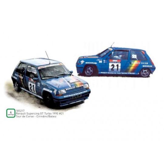 RENAULT Supercinq GT Turbo 1990  1/18 NOREV