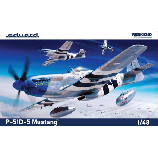 P-51-D5 MUSTANG 1/48 EDUARD WeekEnd Edition