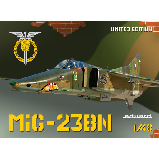 MIG-23 BN 1/48 EDUARD...