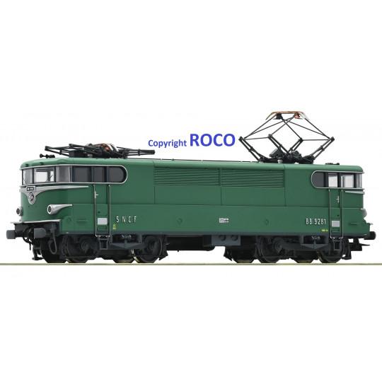 Locomotive électrique BB 9200 9281 SNCF 1/87 HO ROCO