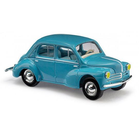 Renault 4CV bleue 1/87ème BUSCH