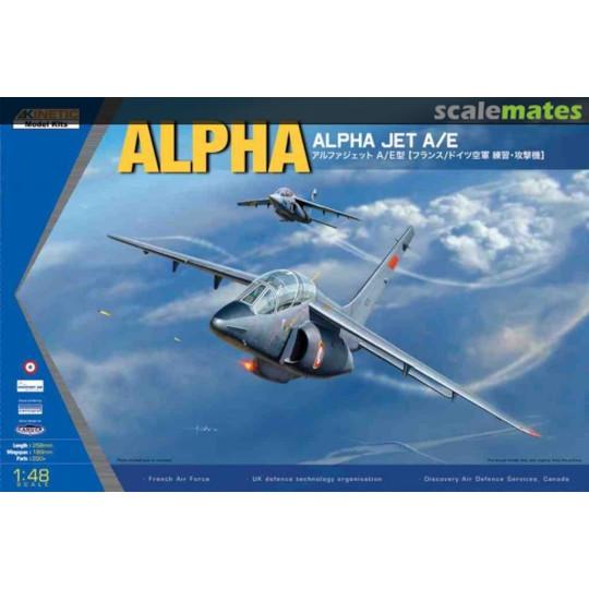 Dassault/Dornier ALPHA JET A/E 1/48 KINETIC