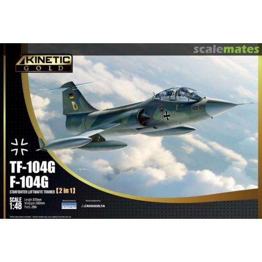 F-104G TF-104 Luftwaffe STARFIGHTER 1/48 KINETIC