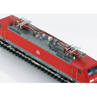 Class 189 Locomotive Electrique DB TRAXX DCC SON 1/87 HO TRIX