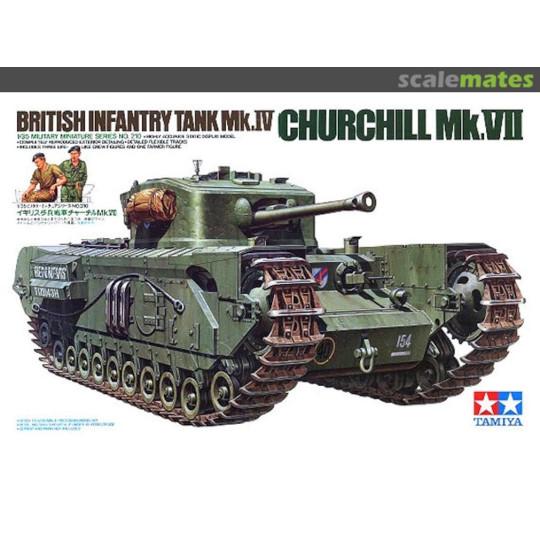 Char anglais Mk.IV CHURCHILL Mk.VII 1/35 TAMIYA