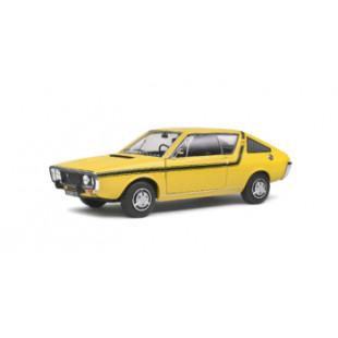 RENAULT R17 MK1 jaune 1976 1/18 SOLIDO