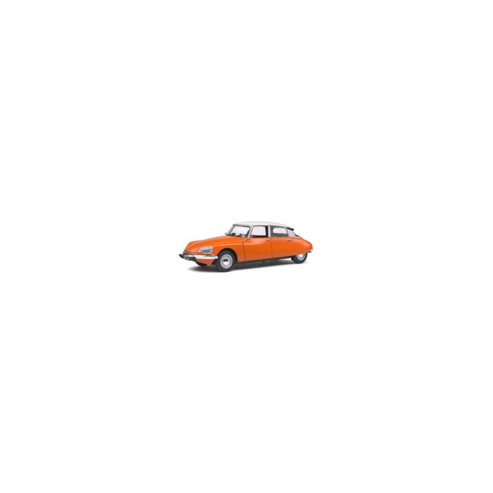 CITROËN D SPECIALE Orange 1972  1/18 SOLIDO