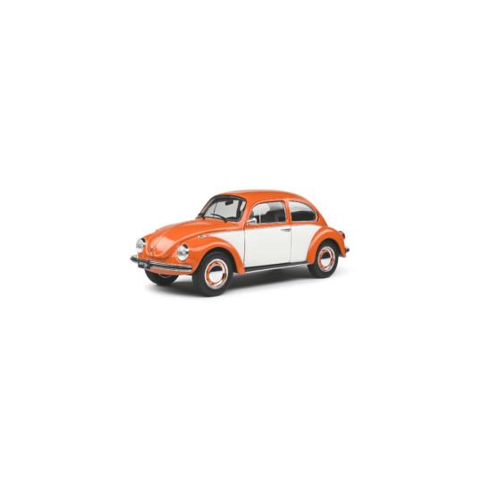 VOLKSWAGEN BEETLE 1303 BI-COLOR Orange 1974 1/18 SOLIDO