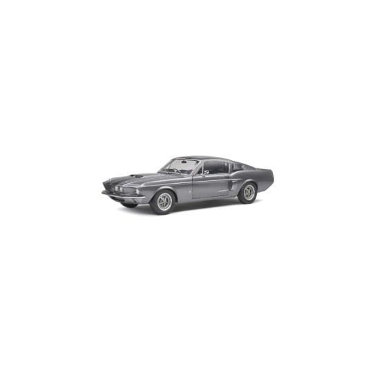 SHELBY MUSTANG GT500 Gris et noir 1967 1/18 SOLIDO