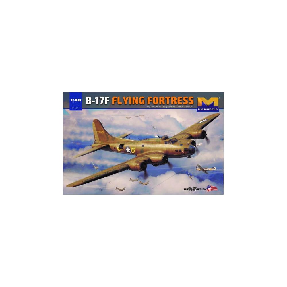 B-17F Fying Fortress 1/48 HK MODELS
