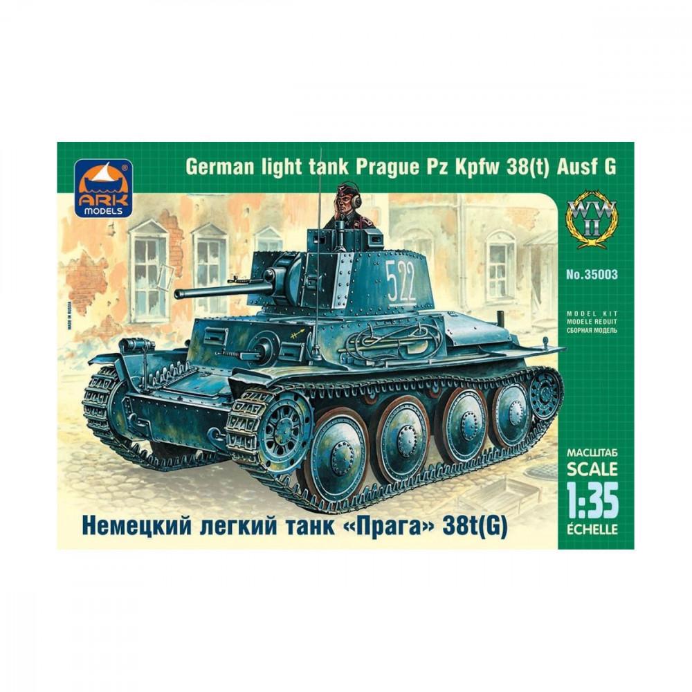 Char léger allemand Pz Kpfw 38sqt Ausf G 1/35 ARK