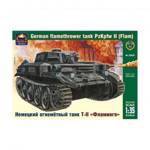 Char lance-flammes allemand Pz Kpfw II 1/35 ARK