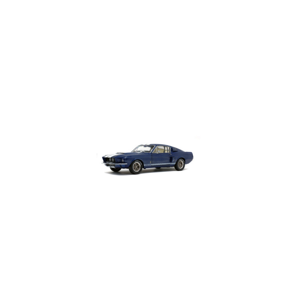 SHELBY MUSTANG GT 500 nightmist blue 1967 1/18 SOLIDO