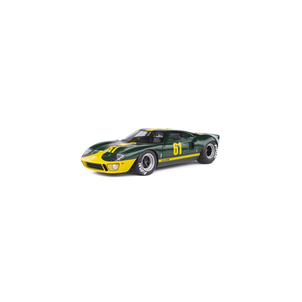 FORD GT40 MK1 1966 1/18 SOLIDO