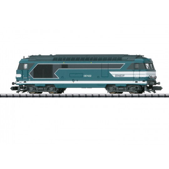 Locomotive diesel SNCF BB 67000 67400 1/160 N TRIX minitrix