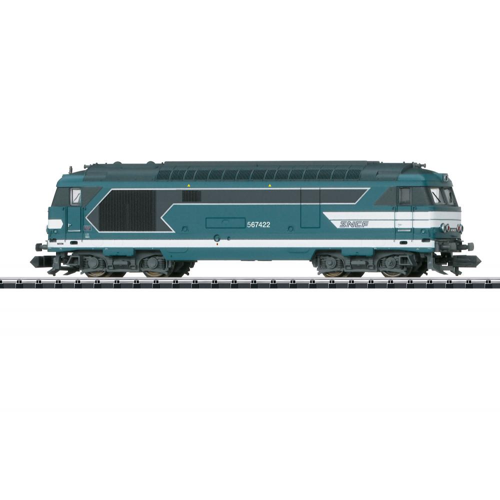 Locomotive diesel SNCF BB 67000 67400 1/160 N TRIX minitrix