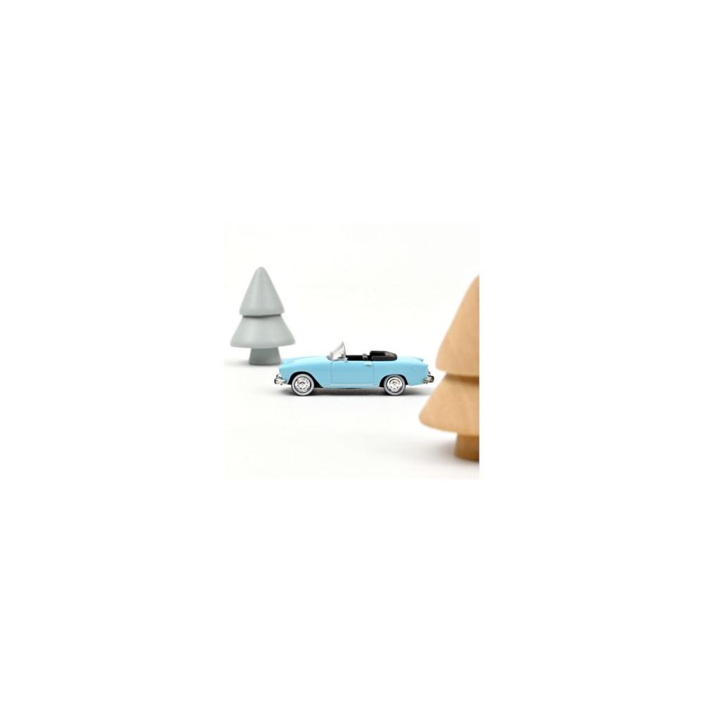 SIMCA Aronde P60 1960 Capri sky blue 1/87 NOREV