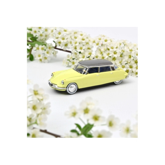 CITROEN DS 19 Jonquille yellow 1958 1/87 NOREV