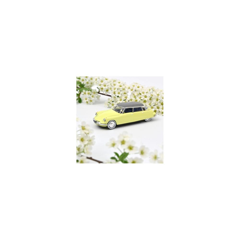 CITROEN DS 19 Jonquille yellow 1958 1/87 NOREV